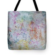 Cotton Candy And Ferris Wheels Tote Bag