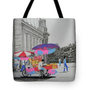 Cotton Candy At The Cne Tote Bag