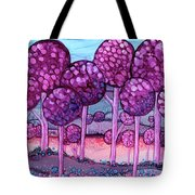 Cotton Candy Forest Tote Bag