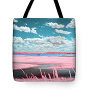 Cotton Candy Marsh Tote Bag