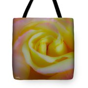Cotton Candy Roses Tote Bag