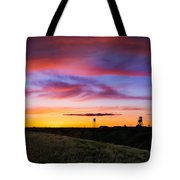 Cotton Candy Sunrise Over The Galt Tote Bag