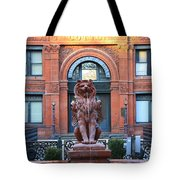 Cotton Exchange Building In Savannah  Tote Bag