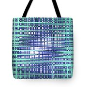 Cotton Field Abstract Tote Bag