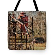Cotton Gin In Vincent Alabama Tote Bag