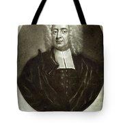 Cotton Mather 1663-1728 Tote Bag