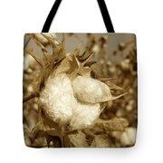 Cotton Sepia Tote Bag
