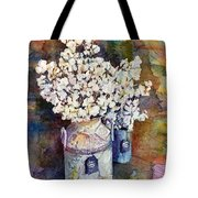 Cotton Stalks Tote Bag