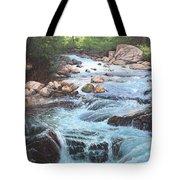 Cotton Wood Creek #4 Tote Bag