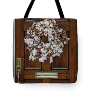 Cotton Wreath Tote Bag
