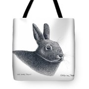 Eastern Cottontail Rabbit Tote Bag
