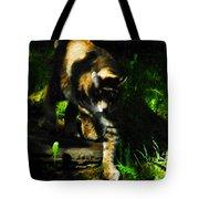 Cougar Eyes Tote Bag
