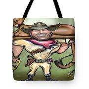 Cougar Trainer Tote Bag by Kevin Middleton