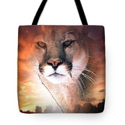 Cougar View Tote Bag