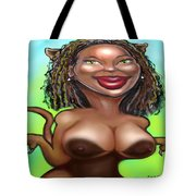 Cougarlicious Tote Bag