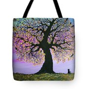 Counting Crowes Tote Bag