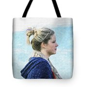 Country Angel - Paint Fx Tote Bag