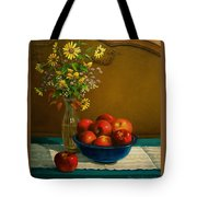 Country Apples Tote Bag