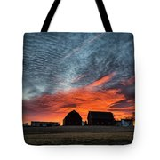 Country Barns Sunrise Tote Bag