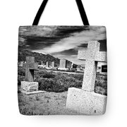 Country Cemetery Tote Bag