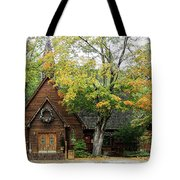 Country Chapel Tote Bag