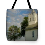Country Chuch Tote Bag