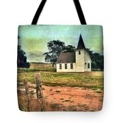 Country Church Tote Bag