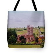 Country Church Wadsworth, England Tote Bag