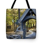 Country Churchyard Tote Bag