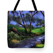 Country Club View Tote Bag