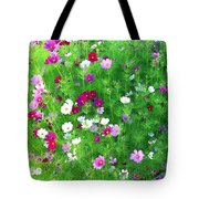 Country Cosmos Tote Bag