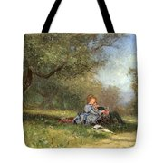 Country Couple Tote Bag