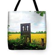Country Crosses Tote Bag