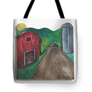Country Day Tote Bag