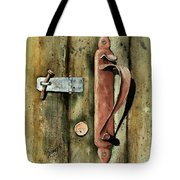 Country Door Lock Tote Bag