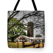 Country Farm Near Collierville, Tn Tote Bag
