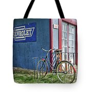 Country French Cafe Tote Bag