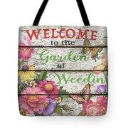 Country Garden Sign-e Tote Bag