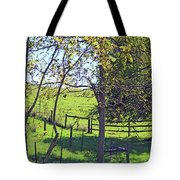 Country Green Tote Bag