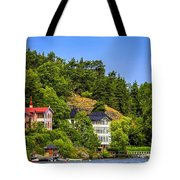 Country Homes Tote Bag