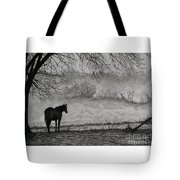 Country Horse Tote Bag