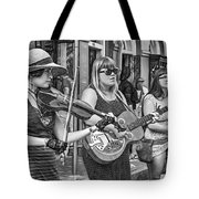 Country In The French Quarter 3 Bw Tote Bag