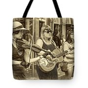Country In The French Quarter 3 Sepia Tote Bag