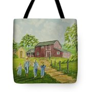Country Kids Tote Bag