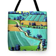 Country Lane Summer II Tote Bag