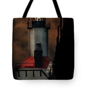 Country Lighthouse Tote Bag