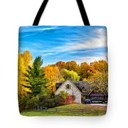 Country Living 2 - Paint Tote Bag