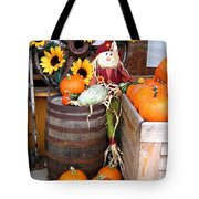 Country Market Tote Bag