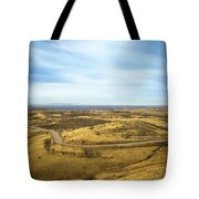 Country Mountain Roads Tote Bag