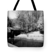 Mabry Mill Tote Bag by Ella Char